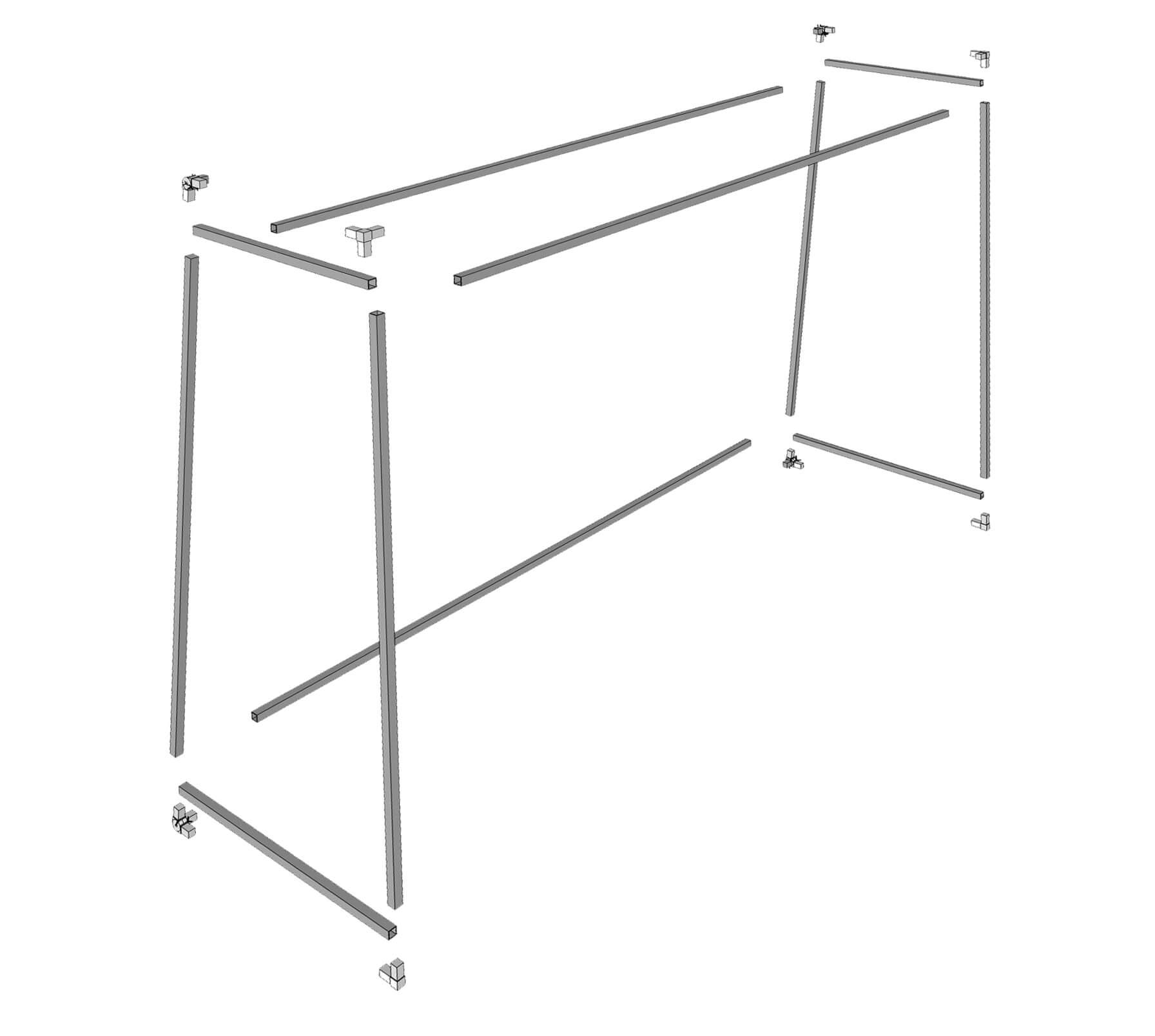 Fußballtor Konstruktion Anleitung