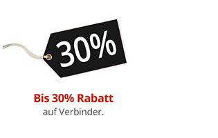 Steckverbinder / Rohrverbinder bis 30% Rabatt